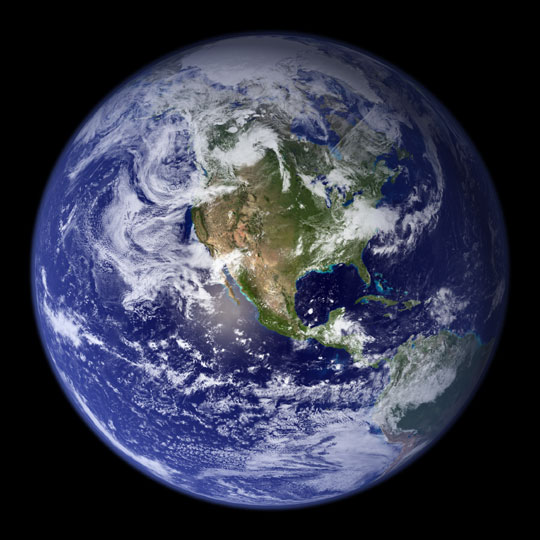 The Earth (Image from NASA)