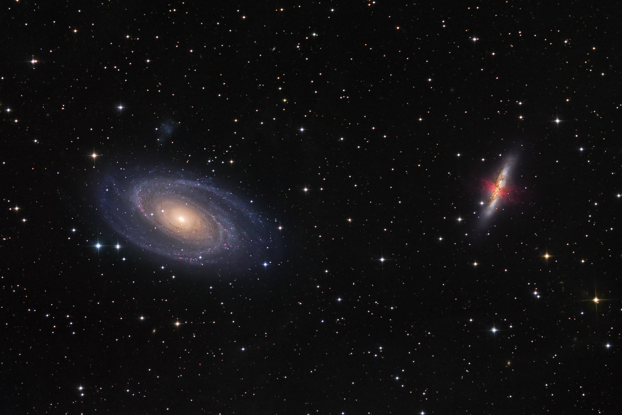 countless galaxies video - HD 2160×1440