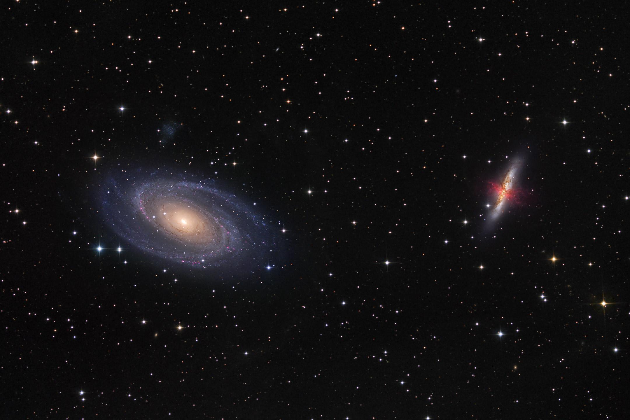 countless galaxies video - HD2160×1440
