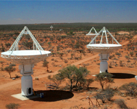 The first six antennas have already been built in Western Australia.
