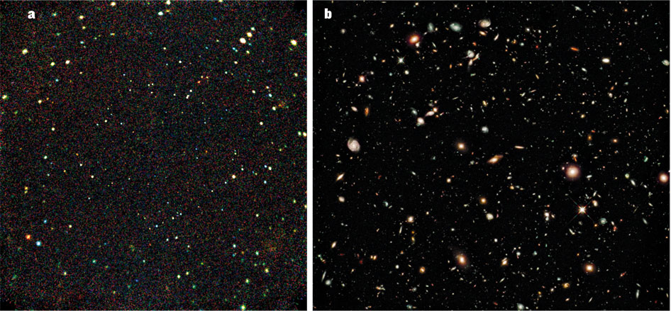 What's new in Nature?  Uber bright supernovas, and shy early black holes!
