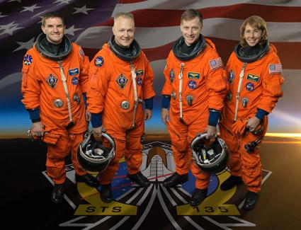 STS-135 Crew (Image Credit: NASA)