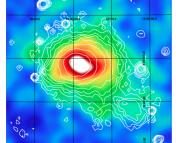 Sunyaev Zel'Dovich decrement in the Coma Cluster. (Planck Collaboration)