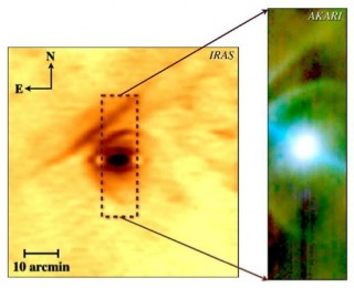 This star lives in exciting times, or, How did Betelgeuse make that funny shape?