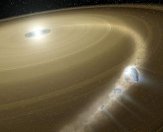 Asteroid vs. White Dwarf