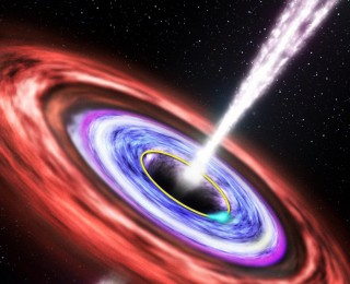 A Star Screams While Being Devoured by Black Hole
