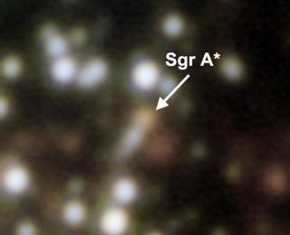 Sgr A*: A flickering black hole