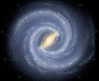 The Milky Way is cut back down to size