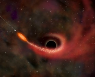 When a Black Hole Stops Being Hungry