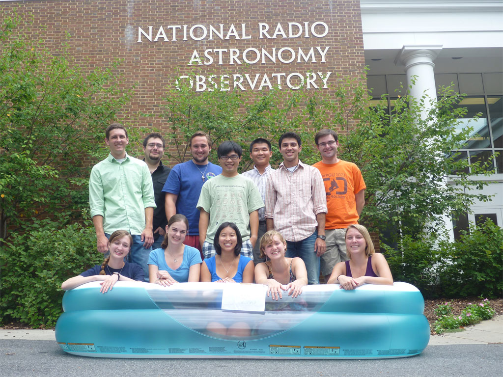 2010 Charlottesville REU Summer Students