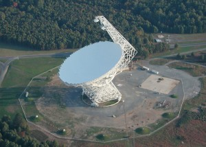 Figure 2: The Green Bank Telescope in West Virginia. The authors used this to search for radio signals from alien civilizations.