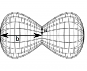 Figure 2 of the paper. Suggested structure of the ejected material.