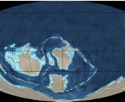 Geologic Map of Earth during the Late Cambrian (0.5 billion years ago). Image credit: Ron Blakey