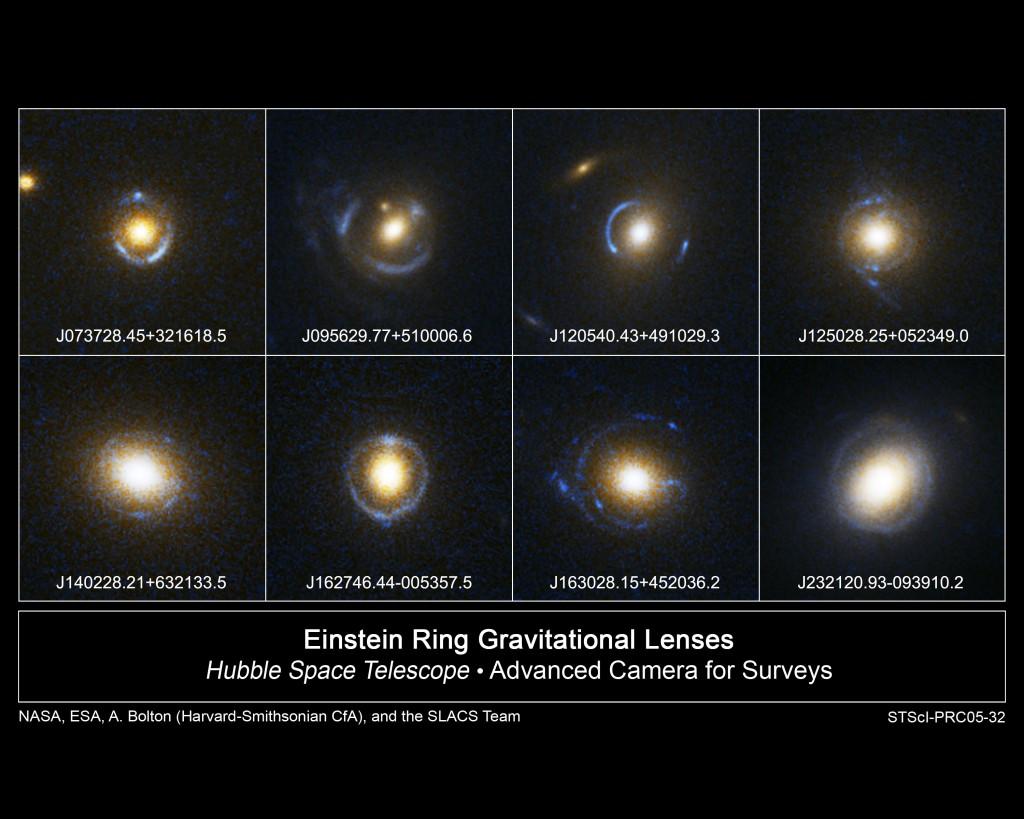 Einstein Ring Examples