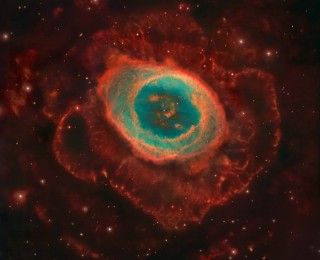 The Ring Nebula in 3D
