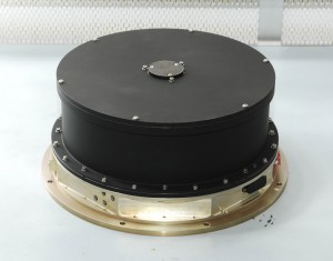 One of Kepler's reaction wheels, manufactured by Ball Aerospace.