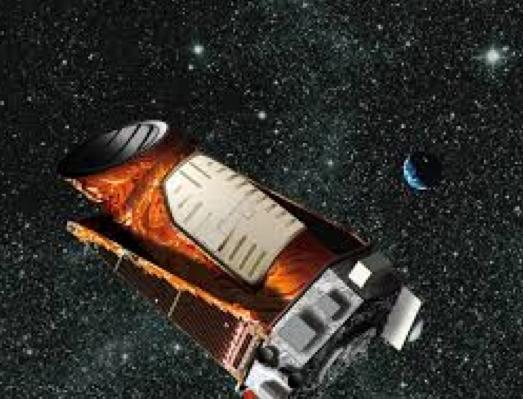 Artist's rendering of Kepler telescope, from irfu.cea.fr.