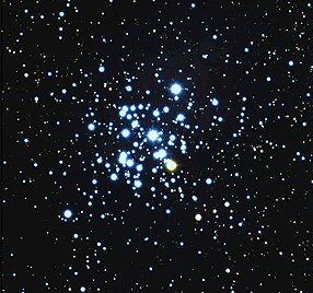Figure 1 - Open star cluster - the birthplace of most stars, including the sun.