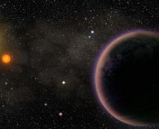 An artist's conception of Kepler-16. (Image credit: arasyndicate.blogspot.com)