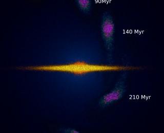Detecting dark matter with milky way ripples