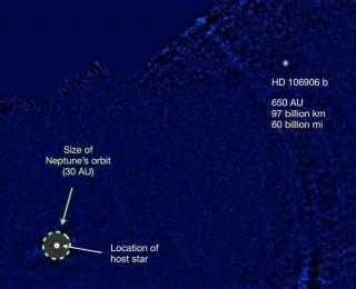 Far Out, Dude: A Planetary-Mass Companion at 650 AU