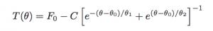Asymmetric hyperbolic secant