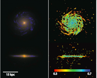 Galaxy in a Bottle: Simulating Spiral Galaxy Formation