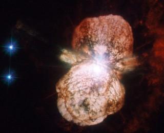 Eta Carinae is heating up