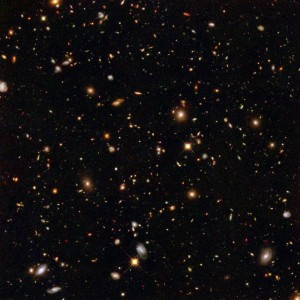 The morning featured the Kavli lecture by Robert Williams discussing the Hubble Deep Field and its Legacy