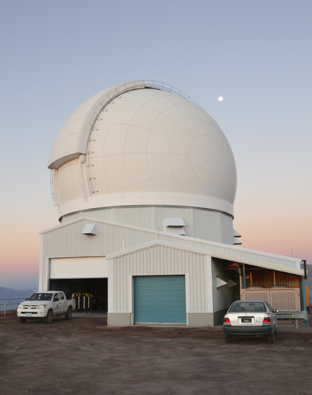 The SOAR Telescope in Chile.