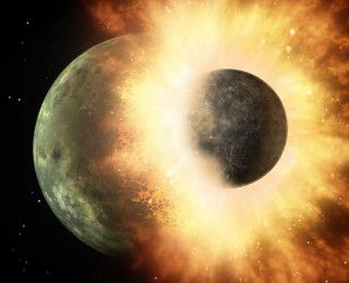 How giant planets affect accretion of water by rocky planets