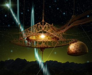 Arecibo Detects a Fast Radio Burst