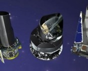 (Left to right) Spitzer, Planck, and Kepler are just three of the missions that face NASA's senior review.