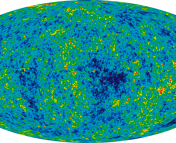 The Cosmic Microwave Background as imaged by WMAP over a period of 9 years.