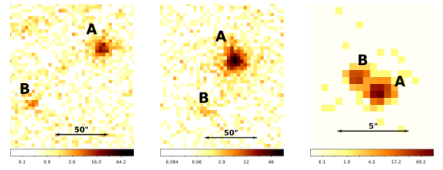 Fig. 1: X-ray images of the binary star systems examined in this paper.
