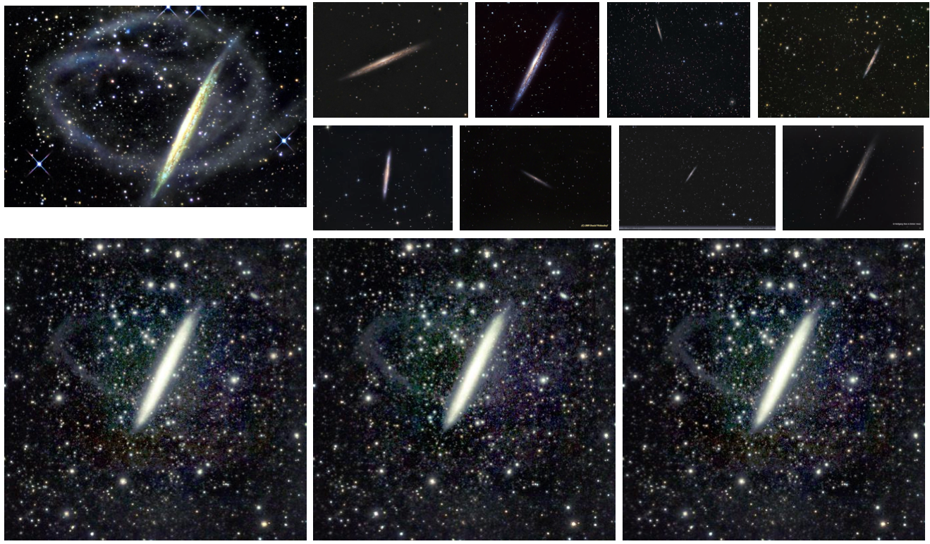 Figure 2. Images combined into a consensus image by the Enhance! algorithm.