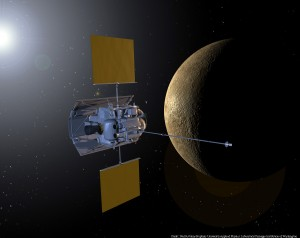 MESSENGER visits Mercury (artist's conception)