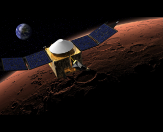 Welcome to Mars, MAVEN and MOM!