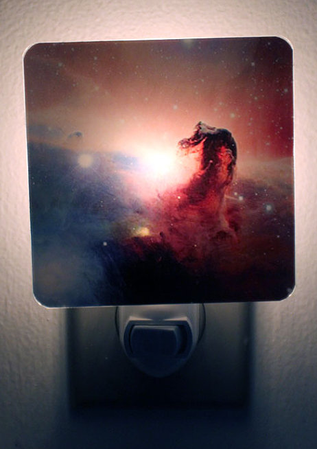 Nightlight featuring the Horsehead Nebula.
