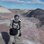 Sukrit Ranjan boldly explores Mars, Utah.