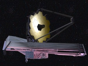 Image of James Webb Space Telescope: Credit: NASA