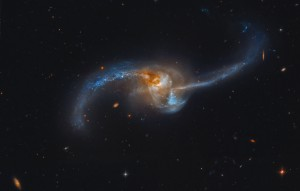 Figure 1: NGC 2623 - one of the merging galaxies observed in this study. Image credit: NASA.