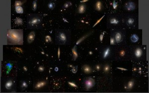 A sample of galaxies