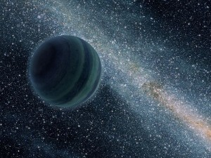 Image credit: NASA This artists conception shows a lonely planet, wandering through space. Planets like these could be habitable in other Universes, say Adams, Coppess & Bloch.