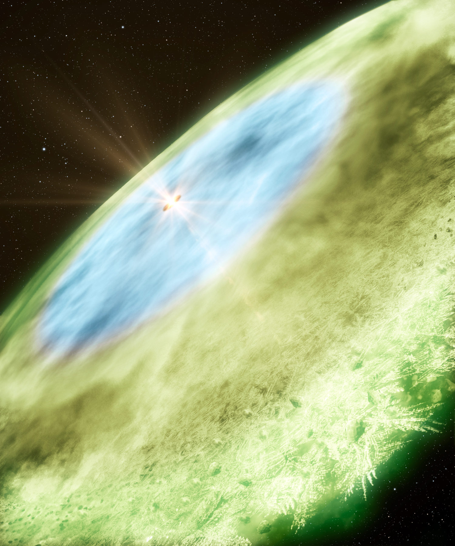 Credit: Bill Saxton and Alexandra Angelich, NRAO/AUI/NSF