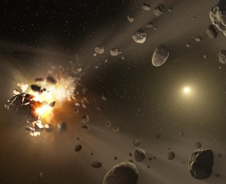 Ripping Apart Asteroids to Account for Earth's Strangeness