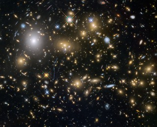 When did massive structures of galaxies form?