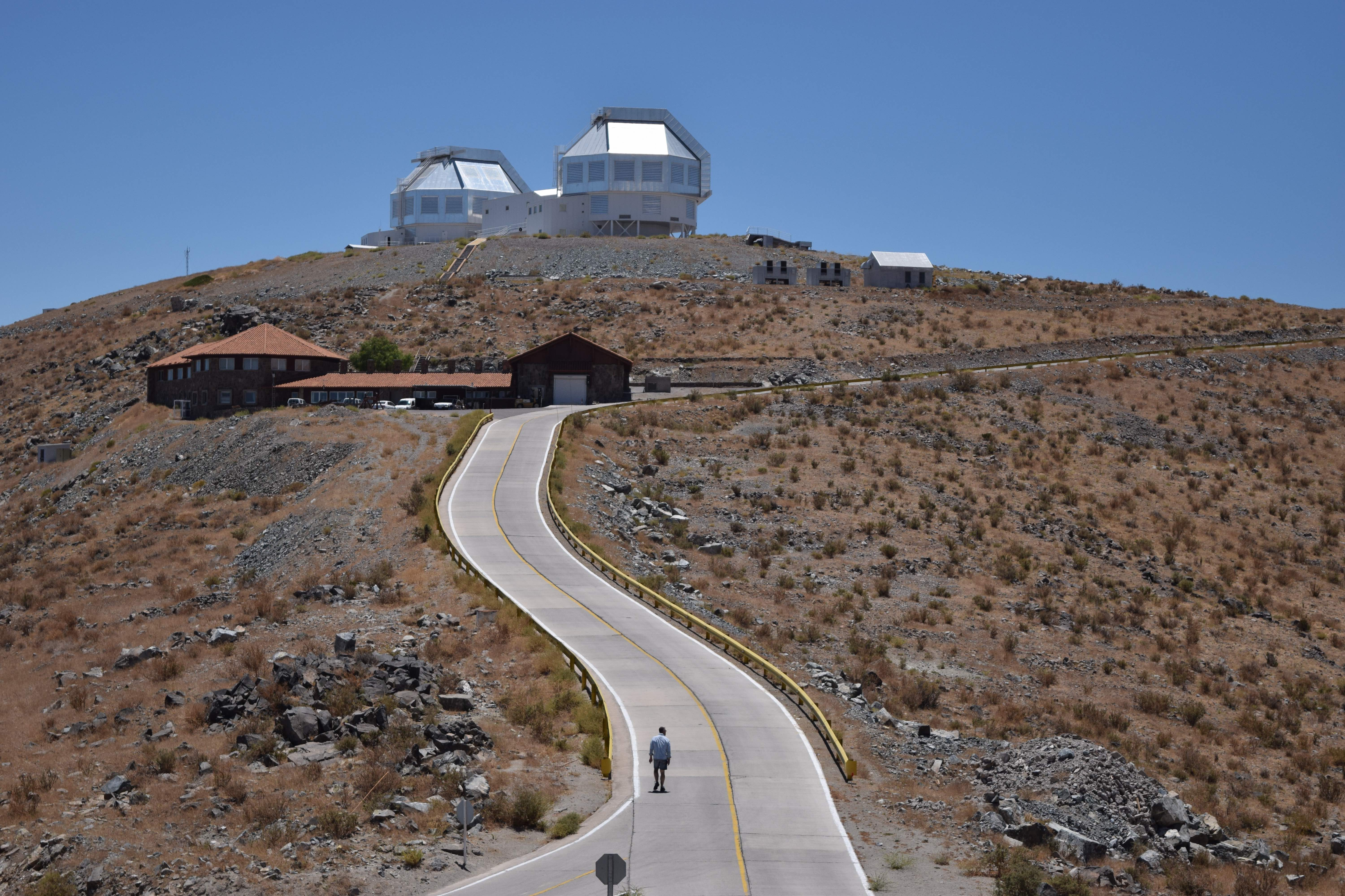 Living the \'Magellan\' life : Observing at a Chilean masterpiece ...
