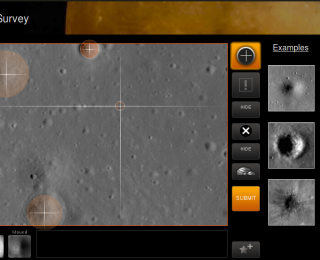 "Moon Zoo: Counting lunar craters with ""citizen science"""