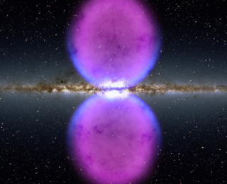 Double Bubble Galaxy